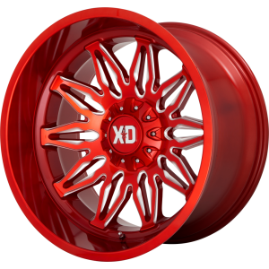 22x10 XD Series XD859 Gunner Candy Red Milled