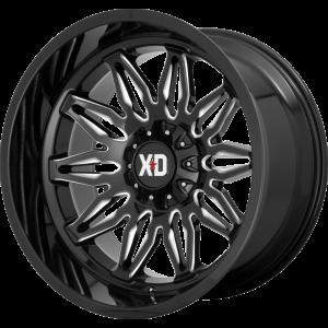 22x10 XD Series XD859 Gunner Gloss Black Milled