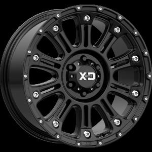 18x9 XD Series XD829 Hoss II Gloss Black