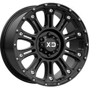 22x10 XD Series XD829 Hoss II Gloss Black