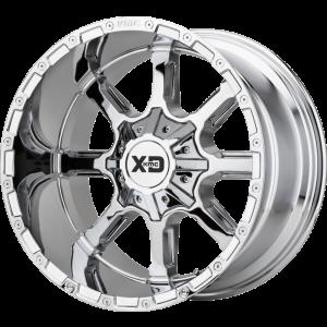 20x10 XD Series XD838 Mammoth Chrome