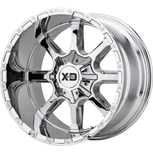 24x14 XD Series XD838 Mammoth Chrome