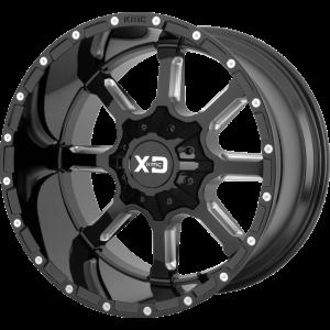 20x10 XD Series XD838 Mammoth Gloss Black Milled