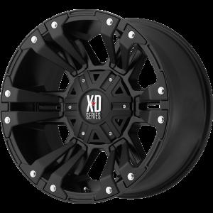 18x9 XD Series XD822 Monster II All Matte Black