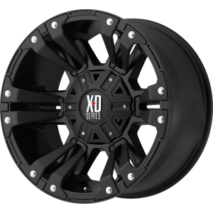20x9 XD Series XD822 Monster II All Matte Black