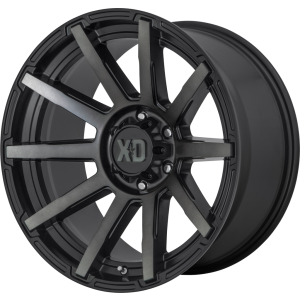 22x10 XD Series XD847 Outbreak Satin Black w/ Gray Tint
