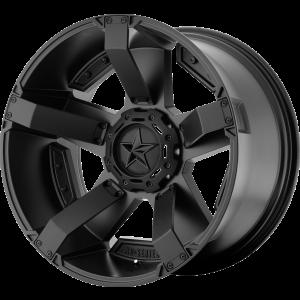 20x10 XD Series XD811 Rockstar II All Matte Black