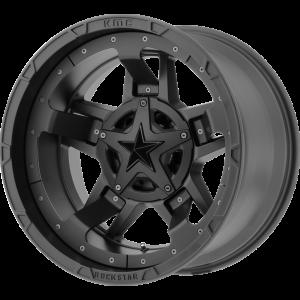 20x10 XD Series XD827 Rockstar III All Matte Black