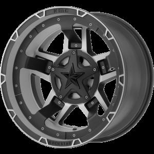 20x9 XD Series XD827 Rockstar III Matte Black Machined
