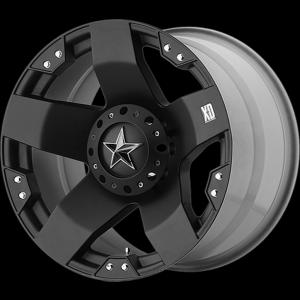 17x9 XD Series XD775 Rockstar Matte Black