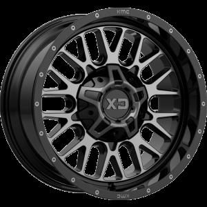 20x12 XD Series XD842 Snare Gloss Black w/ Gray Tint