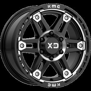 20x10 XD Series XD840 Spy II Gloss Black Machined
