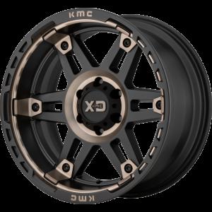 20x9 XD Series XD840 Spy II Satin Black w/ Dark Tint