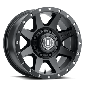 17x8.5 ICON Alloy Rebound HD Satin Black