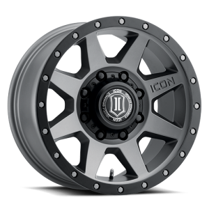 17x8.5 ICON Alloy Rebound HD Titanium