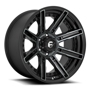 Need 4 Speed Motorsports - n4sm - RAGE-D711-6LUG-20x10-ET-18-GLOSS-BLK-N-MILLED-A1_1000_5895