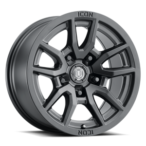 17x8.5 ICON Alloy Vector 5 Satin Black