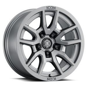 17x8.5 ICON Alloy Vector 5 Titanium