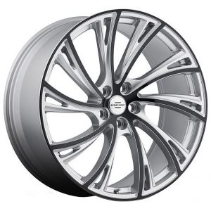 20x9.5 Redbourne Noble Gloss Titanium w/ Black Face (True Directional)