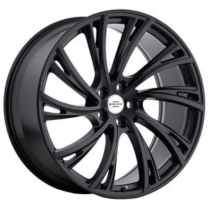 20x9.5 Redbourne Noble Matte Black w/ Gloss Black Face (True Directional)