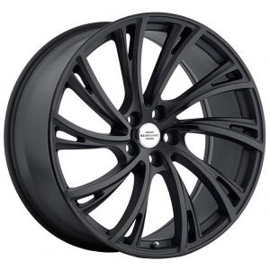 22x10 Redbourne Noble Matte Black (True Directional)