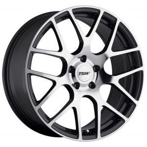 - Staggered full Set -(2) 18x8.5 TSW Nurburgring Gunmetal w/ Mirror Face (Rotary Forged)(2) 18x10.5 TSW Nurburgring Gunmetal w/ Mirror Face (Rotary Forged)