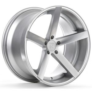 Rohana RC22 19x8.5 Machine Silver