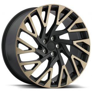 22x10 Redbourne Westminster Matte Black w/ Machined Face and Dark Tint