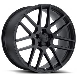 22x9 Redbourne Windsor Matte Black w/ Gloss Black Face