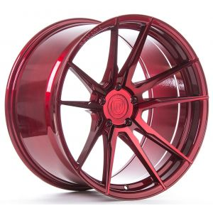 Rohana RF2 20x11 Gloss Red (Deep)