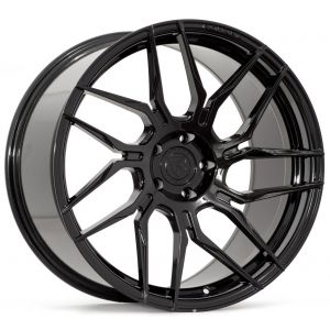Rohana RFX7 19x8.5 Gloss Black Left