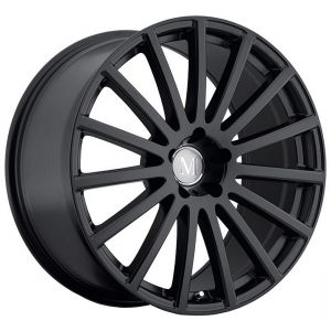 17x9 Mandrus Rotec All Matte Black (Rotary Forged)