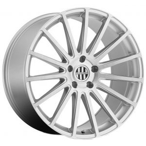 20x10.5 Victor Equipment Sascha Silver w/ Brushed Face (Rotary Forged)