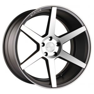 19x8.5 Stance SC-6 Slate Grey/ Machined Face