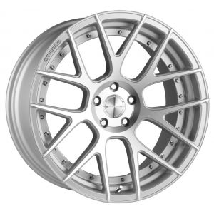 20x10 Stance SC-8 Silver w/ Machined Face