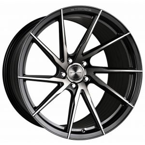 22x10.5 Stance SF01 Gloss Black Tinted Machine (Rotary Forged) (True Directional)