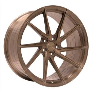 - Staggered full Set -(2) 20x9 Stance SF01 Tinted Brush Bronze (Rotary Forged) (True Directional)(2) 20x10 Stance SF01 Tinted Brush Bronze (Rotary Forged) (True Directional)