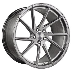 19x8.5 Stance SF01 Brushed Titanium (Rotary Forged) (True Directional)