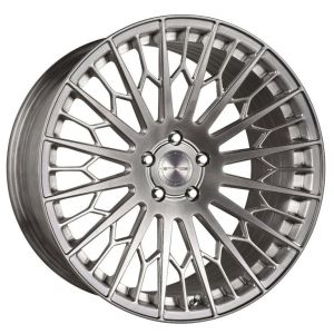 20x10 Stance SF02 Brushed Titanium (Rotary Forged)
