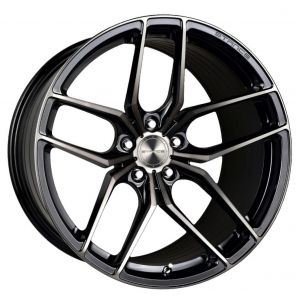 18x8.5 Stance SF03 Gloss Black Tinted Machined (Rotary Flow)
