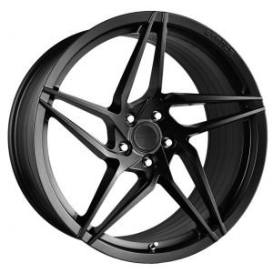 20x10.5 Stance SF04 Satin Black (Rotary Forged) (True Directional)