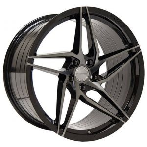 - Staggered full Set -(2) 20x10 Stance SF04 Gloss Black Tinted Face (Rotary Forged) (True Directional)(2) 20x11 Stance SF04 Gloss Black Tinted Face (Rotary Forged) (True Directional)