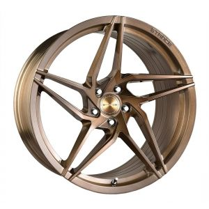 - Staggered full Set -(2) 20x9 Stance SF04 Brush Bronze (Rotary Forged) (True Directional)(2) 20x10 Stance SF04 Brush Bronze (Rotary Forged) (True Directional)