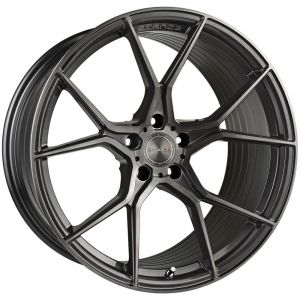 19x8.5 Stance SF07 Gunmetal w/ Brushed Tinted Face (Rotary Forged)