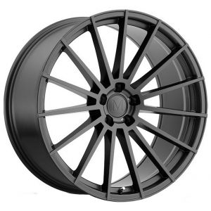 17x8 Mandrus Stirling Gloss Gunmetal (Rotary Forged)
