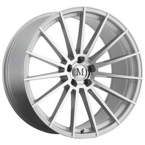 18x9.5 Mandrus Stirling Silver w/ Mirror Cut Face (Rotary Forged)