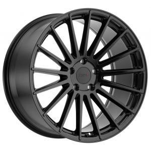 - Staggered full Set -(2) 20x8.5 TSW Luco Gloss Black (2) 20x10 TSW Luco Gloss Black