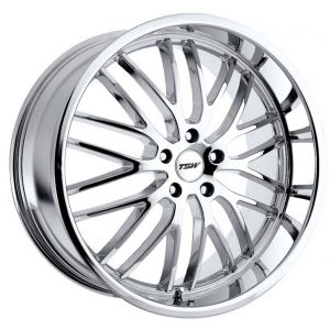 - Staggered Full Set - (2) 19x8 TSW Snetterton Chrome(2) 19x9.5 TSW Snetterton Chrome