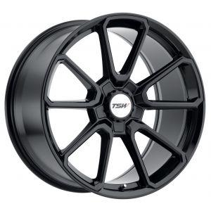 - Staggered full Set -(2) 20x8.5 TSW Sonoma Gloss Black (2) 20x10 TSW Sonoma Gloss Black