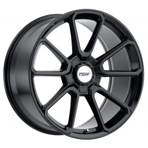 - Staggered full Set -(2) 19x8.5 TSW Sonoma Gloss Black (2) 19x9.5 TSW Sonoma Gloss Black